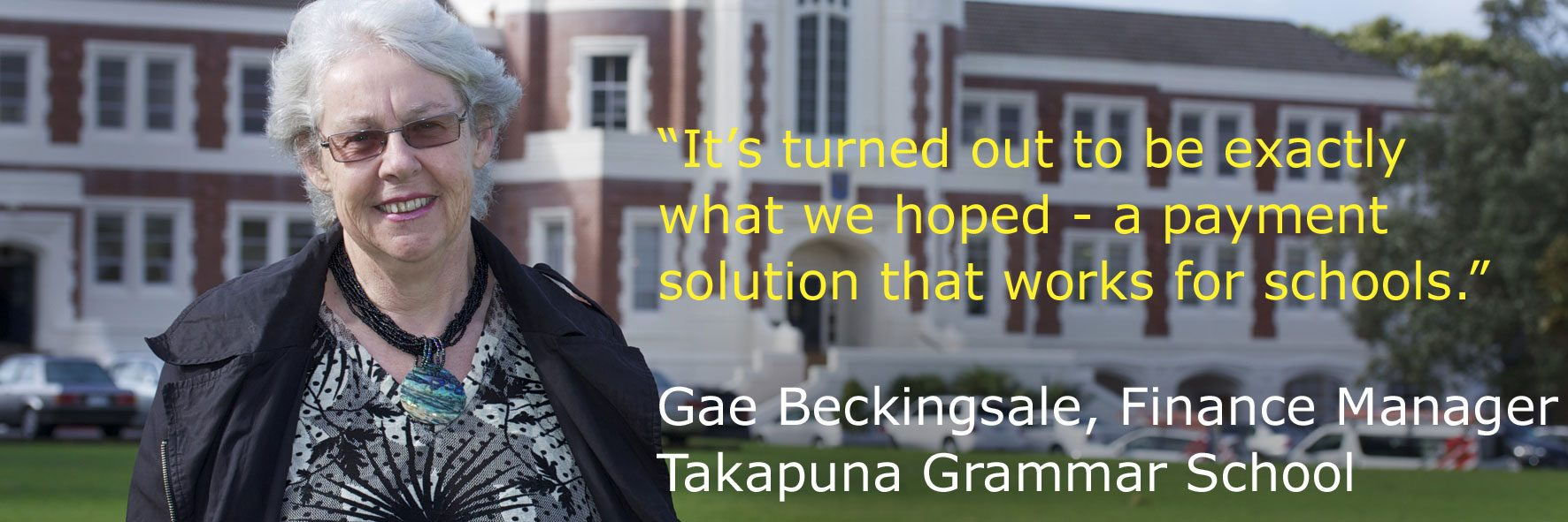 Takapuna Grammar School finds payment solution