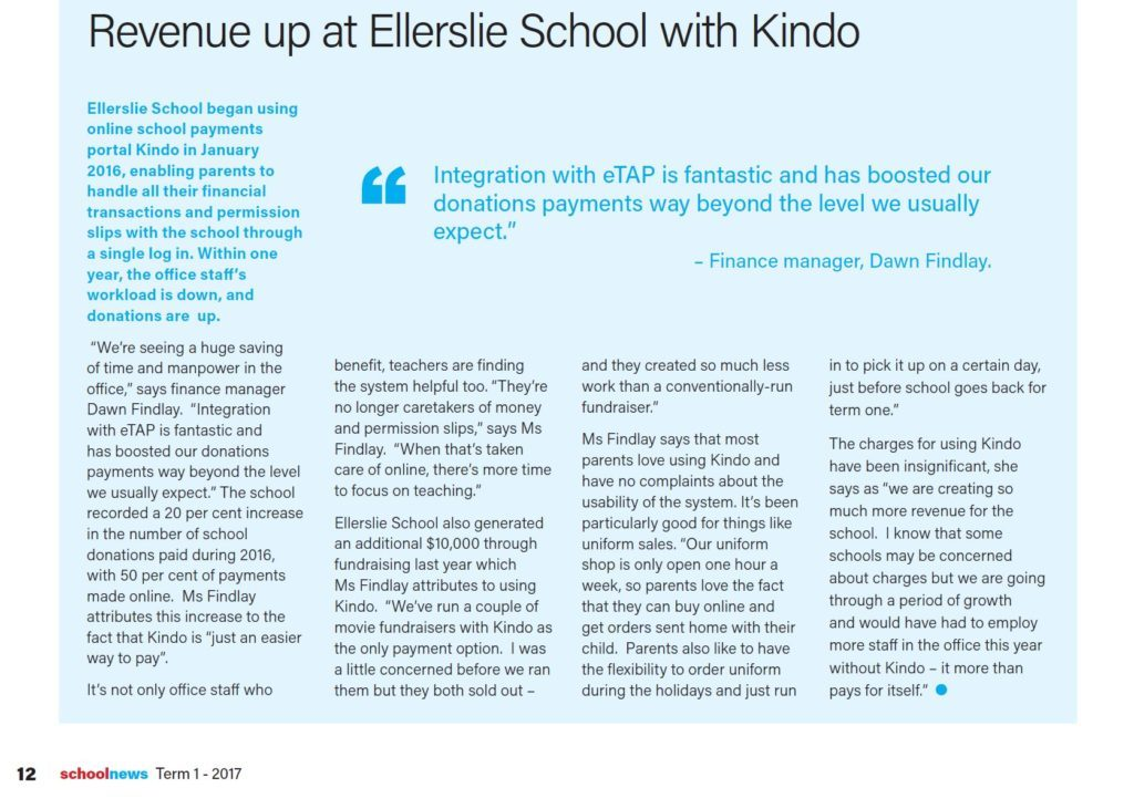 SchoolNews-article_Ellerslie_School_revenue